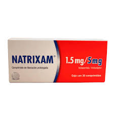 NATRIXAM LP 1.5/5MG CPR 30 MODIFIED RELEASE TABLET